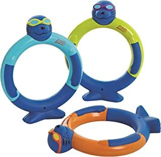 Zoggs Zoggy Dive Rings 泳池玩具和游戏(3 件装)