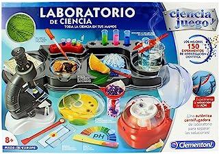 Clementoni CIENIA 实验室科学与游戏,150 种实验,多色 (552429)