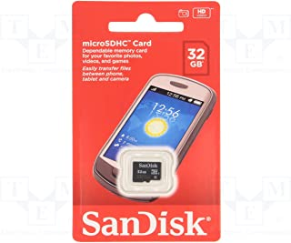 SanDisk 32GB Mobile MicroSDHC Class 4 Flash Memory Card With Adapter- SDSDQM-032G-B35A(RETAIL PACKAGING)