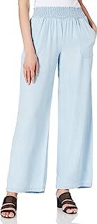 True Religion 女式漂白水洗休闲长裤