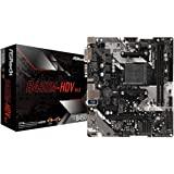 ASRock B450M-HDV R4.0 插座 AM4/ AMD Promontory B450/ DDR4/ SAT…