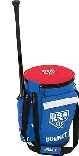 BOWNET 棒球/软球 教练包 [ BUCKET BAG ]球桶用包 附带蝙蝠袋 USA 软球图案 BN-BUCKET BAG USA SB 【正品】