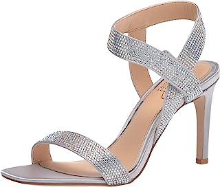 Jewel Badgley Mischka 女士踝带高跟凉鞋