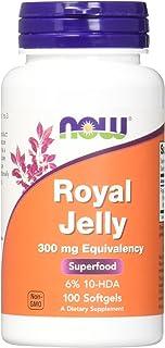 Royal Jelly 100颗软胶囊 - Now Foods
