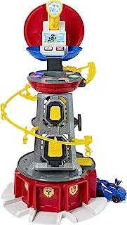 Paw Patrol Mighty Pups Super Paws 瞭望塔玩具,带有灯光和声音,适合3岁及以上儿童,多色