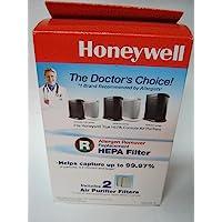 Honeywell 霍尼韦尔 True HEPA替换过滤芯HRF-R2(2件)