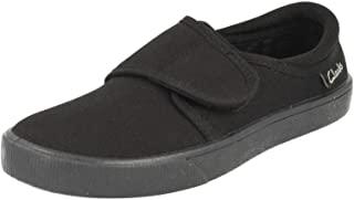 Clarks 男童 Hopper Run 德比鞋