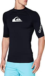 Quiksilver All Time-Lycra 男士短袖 UPF 50