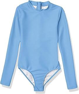 Seafolly 女童长袖背心连体泳衣