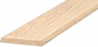 M-D 建筑产品 11924 3 英寸平面硬木门槛 36 英寸硬木