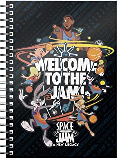 Welcome To The Jam Space Jam Looney Tunes 螺旋装订笔记本