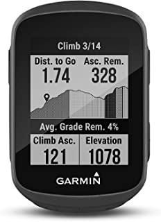 Garmin Edge 130 Plus-紧凑、33 克轻量级 GPS 自行车电脑,具有 1.8 英寸显示屏、准确的数据记录、训练计划、导航和 MTB 值。电话通知,长达 12 小时的电池
