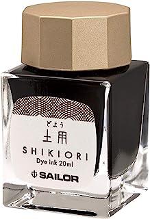 Sailor 写乐钢笔 四季织 十六夜之梦 瓶装墨水  土用(ブラウン系)