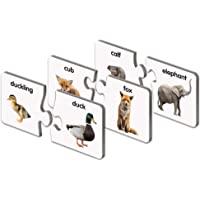 学习之旅: Match It! - 动物家族 - 学习动物,动物配对游戏,儿童动物拼图,幼儿拼图,获*教育玩具
