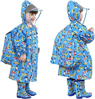 儿童雨衣 3D 儿童雨衣 夹克 雨披 防水雨衣 雨衣 雨衣