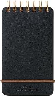 世界工艺 Grain 线圈笔记本 黒