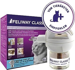 FELIWAY 费利威 经典30天入门扩散器笔芯套装,抚慰猫并帮助解决家庭中的行为问题,48毫升