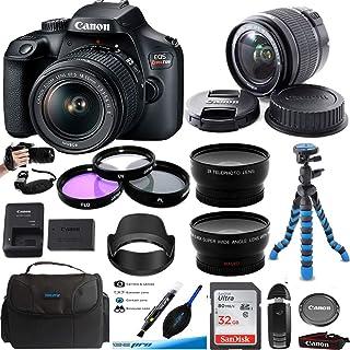 EOS Rebel T100 数码单反相机带 18-55 毫米镜头套件 + Expo 高级配件包