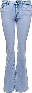 Superdry 极度干燥 女士中腰修身喇叭裤