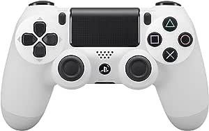 Sony 索尼 Dualshock 4 控制器(新版 2) - 白色(EU)(PS4)
