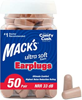 Mack's Ultra Ear 塞子(50 对)- 米黄色