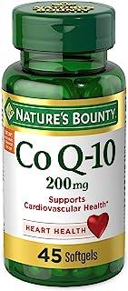 Natures Bounty CoQ10 软胶囊,45粒,200毫克