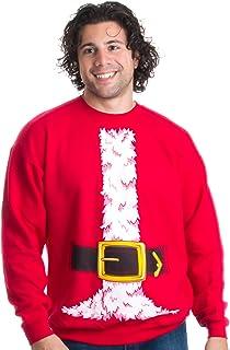 Santa Claus Costume √ 新奇圣诞毛衣,假日圆领运动衫