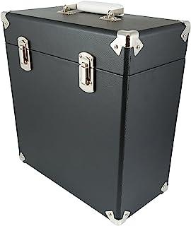 GPO 便携式手提箱适用于 LP 记录和76.2cm 乙烯基–黑色