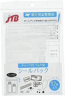 JTB商事 带拉链贴纸面膜 透明 【6种尺寸12张】 5180Fujifil