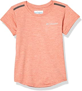 Columbia 女童和幼儿 Tech Trek 短袖 T 恤