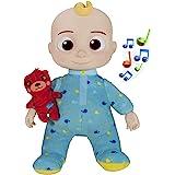 CoComelon CMW0016 Mitsing 玩偶 JJ *时间 超软毛绒玩偶 带声音 适合 18 个月以上的儿童