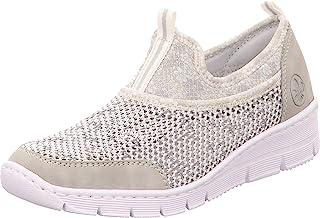 Rieker 565Q2 女士拖鞋,一脚蹬,时尚,休闲鞋