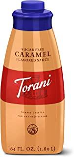 Torani Sugar Free Caramel Sauce, 64 Ounce