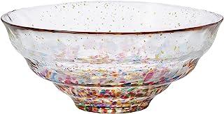 ADERIA 津轻玻璃 玻璃碗 金彩 *大14.5×高6厘米 日本制造 F-71897