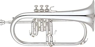 雅马哈 YFH-631GS 专业Flugelhorn 银色