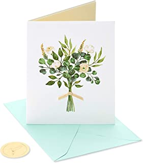 Papyrus 结婚卡情侣(白色花朵)6376305 1 EA