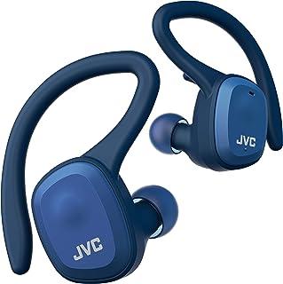 JVC HA-ET45T-A 完全无线耳机 主体质量7.4克 小型轻量机身*大可播放14小时 防水防尘规格 支持蓝牙 Ver5.0 适合运动使用 蓝色