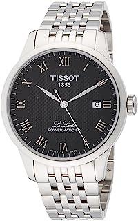 [天梭] TISSOT 腕表 、锁 自动机械 动力机芯 80 黑色表盘 手链 T0064071105300 男士 【正规进口商品】