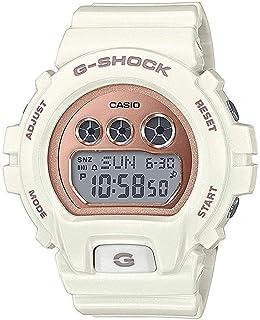 Casio 卡西欧 GMDS6900MC-7 G-Shock 女式 S 系列手表 白色 46mm 树脂