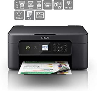 爱普生 Expression Home XP-3100 打印/扫描/复印 Wi-Fi 打印机,黑色
