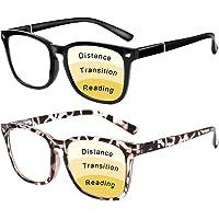 Progressive 多焦点老花镜 男女 蓝光 防眼* / 眩光/UV 滤镜 电脑阅读器
