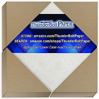 250 灰色羊皮纸 65 磅重纸 - 10.16 厘米 X 10.16 厘米(10.16 厘米 X 10.16 厘米)方形照片|卡片|框架尺寸 - 可打印卡片彩色卡片纸老羊皮纸