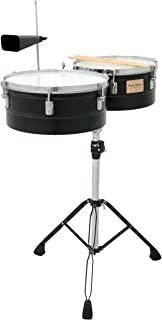 Tycoon 打击乐器 tti-1415b 粉末,TIMBALES,黑色,13和35.6厘米