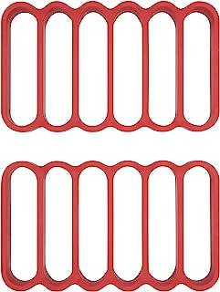 OXO Good Grips 硅胶煎锅,2件装,硅胶,红色