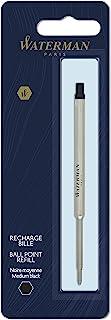 Waterman 0944490 圆珠笔笔芯 M 号 Mittlere Schreibfeder 黑色