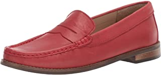 Driver Club USA 儿童皮革 男孩/女孩休闲舒适 一脚蹬软帮鞋 乐福鞋 驾驶风格