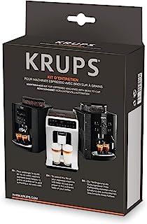 Krups XS5300 全自动咖啡机清洁和护理套装 混合材质