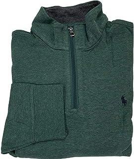 Polo Ralph Lauren 保罗拉夫劳伦男式半拉链长袖套头衫