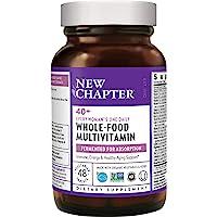 New Chapter 每日一粒 专为40+女性,女性多种维生素含发酵益生菌+维生素D3 + B维生素+Non-GMO成…