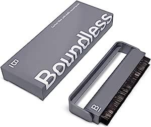 无边界音频记录清洁刷 - 乙烯基清洁碳纤维防静电录音刷